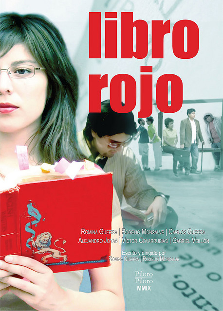 Poster cortometraje Libro Rojo - All rights reserved by Romina Guerra Alvarez.