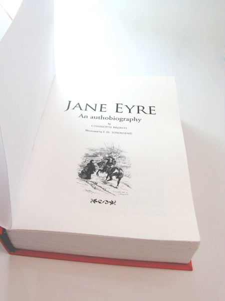 Imagen de edición príncipe de Jane Eyre - All rights reserved by Romina Guerra Alvarez