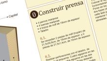 RG - Infografía de un tipo de encuadernación artesanal - Todos los derechos reservados por Romina Guerra Alvarez.©