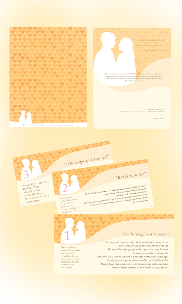 RG - foto invitación matrimonio - diseño por Romina Guerra - 2010