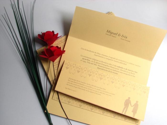 RG - foto invitación matrimonio - diseño por Romina Guerra - 2011