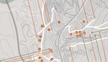RG - Detalle Mapa Ciudad Abierta - Todos los derechos reservados por Romina Guerra Alvarez.©