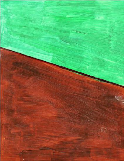 RG - reproducción van gogh - la silla de vincent en arles - por romina guerra en pintura acrílica - DETALLE Y ESTUDIO - 02