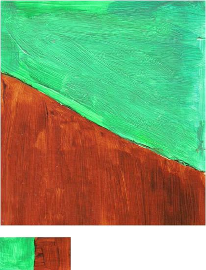 RG - reproducción van gogh - la silla de vincent en arles - por romina guerra en pintura acrílica - DETALLE Y ESTUDIO - 08