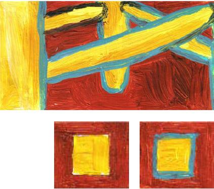 RG - reproducción van gogh - la silla de vincent en arles - por romina guerra en pintura acrílica - DETALLE Y ESTUDIO - 01