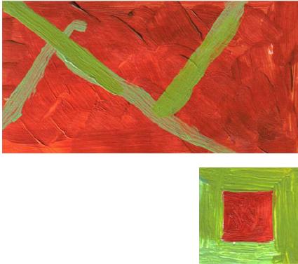 RG - reproducción van gogh - la silla de vincent en arles - por romina guerra en pintura acrílica - DETALLE Y ESTUDIO - 12