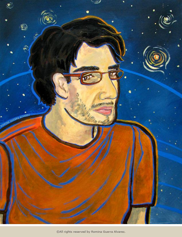 RG - Retrato Jesu Espacial por Romina Guerra - ©Todos los derechos reservados por Romina Guerra Alvarez.