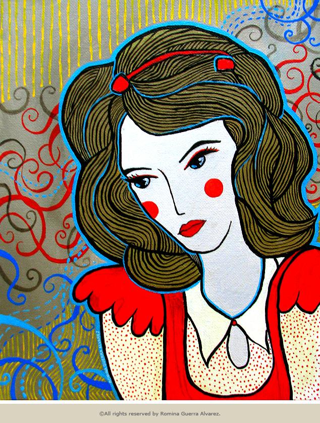 RG - Pintura Contemplativa por Romina Guerra - ©Todos los derechos reservados por Romina Guerra Alvarez.