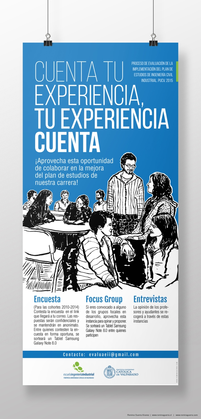 RG - Diseño EII PUCV jóvenes afiche 2015 - por Romina Guerra - ©Todos los derechos reservados por Romina Guerra Alvarez. (4)