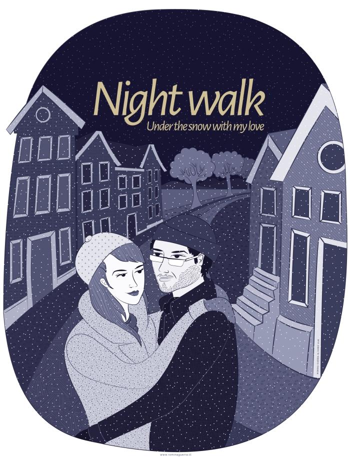 RG - Diseño Night Walk 2016 - por Romina Guerra - ©Todos los derechos reservados por Romina Guerra Alvarez.